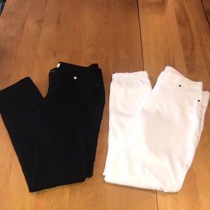 Bundle of Two Pairs Skinny Pants Medium